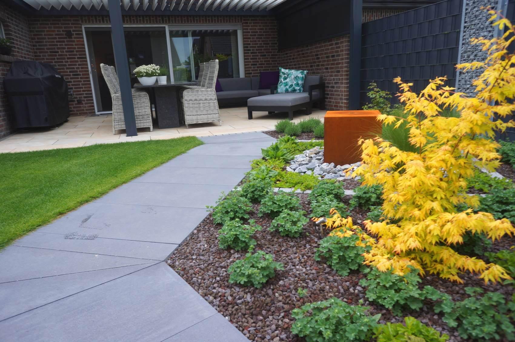 Moderner Garten Traumgarten Kleve