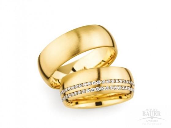 Trauringe Partnerringe Gelbgold 750000  Paar  Christian