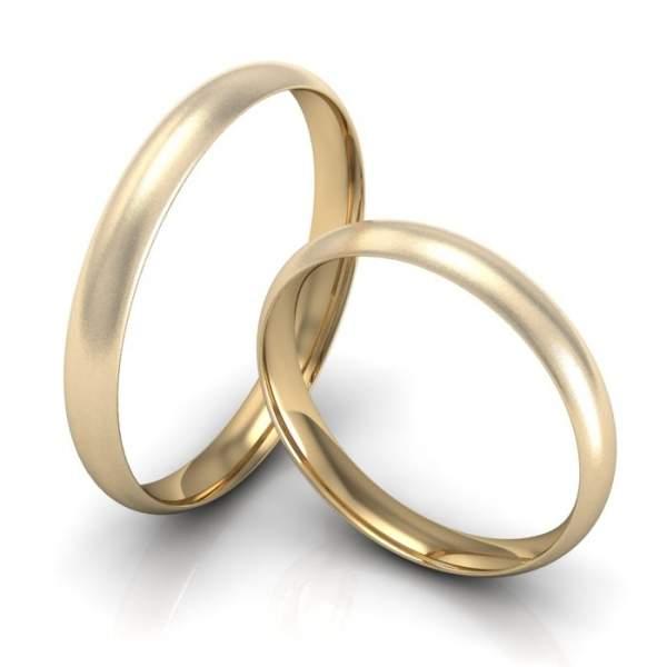 Gelbgoldringe zur Verlobung ID772  TrauringShop24de