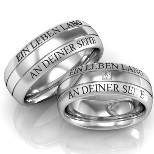 Verlobungsring mit gravur oder ohne  Teurer Schmuck