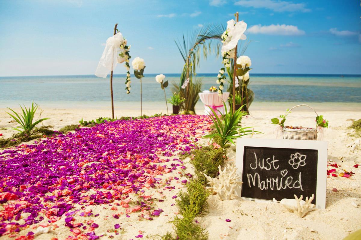 Hochzeit am Strand  was muss man beachten