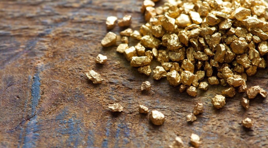 Herstellung von Gold und Silber fr Trauringe