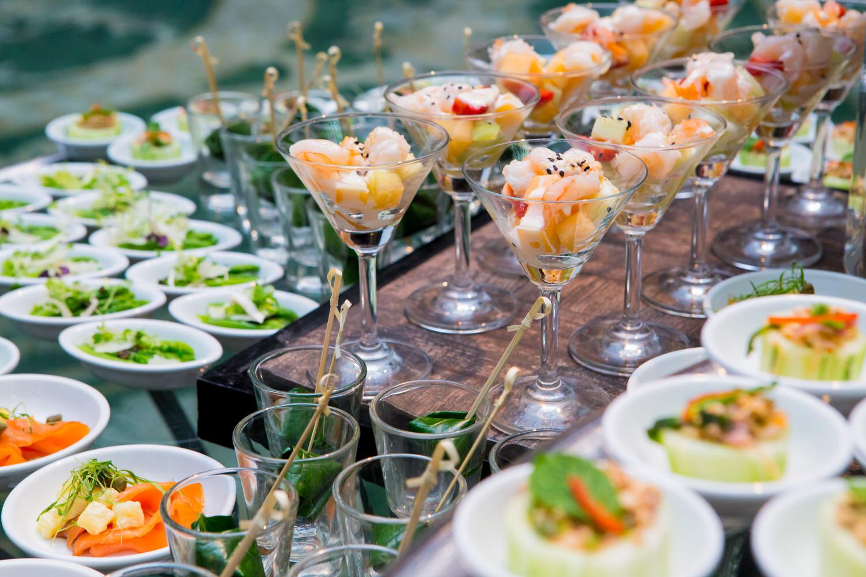 Hochzeitsbuffet  Selber machen oder machen lassen