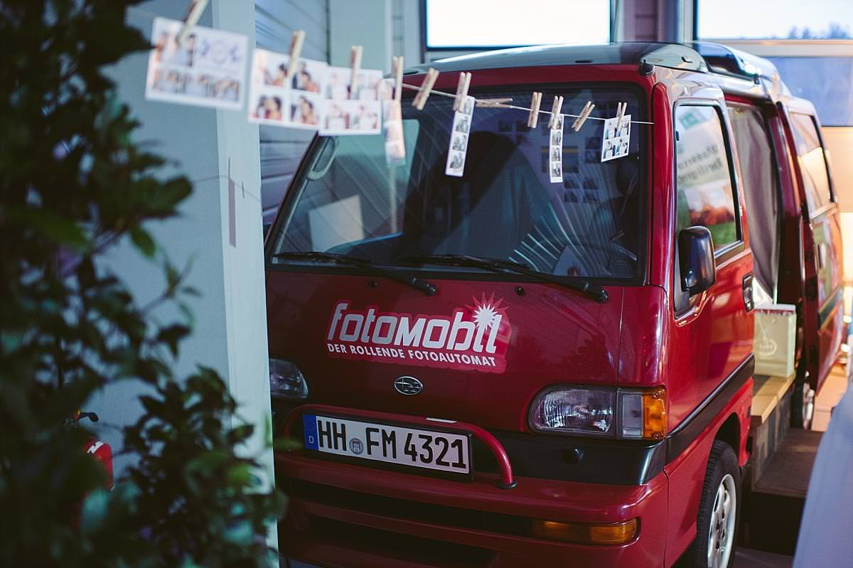 Fotomobil  Die rollende Fotobox  Photobooth  Traut Euch