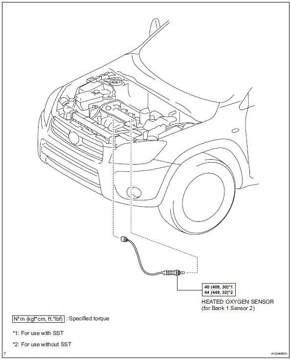 2003 toyota camry o2 sensor location toyota wiring