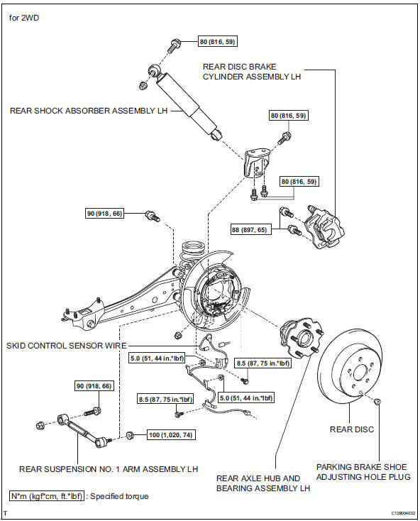 Service manual [Diagram To Change Wheel Bearing On A 2008