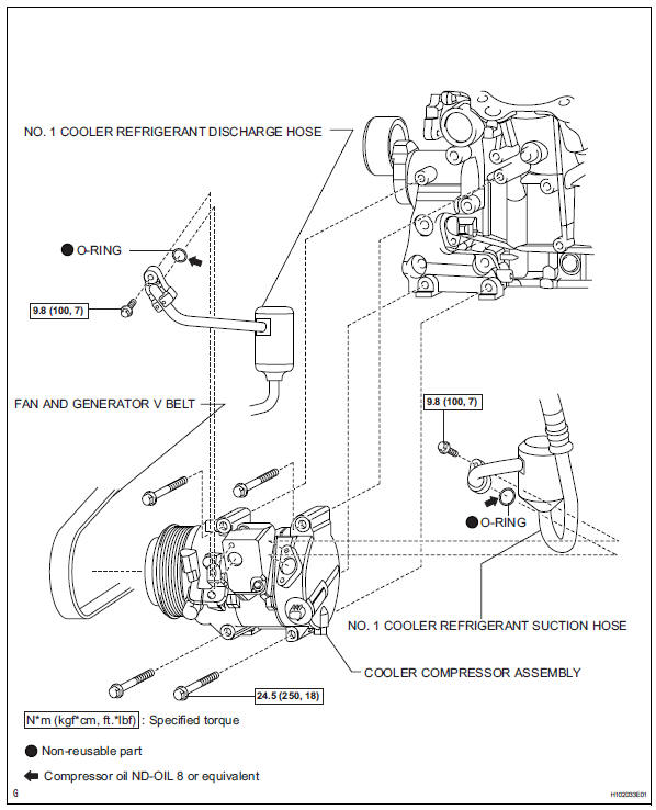 1998 Toyota Tacoma Air Conditioning Diagram