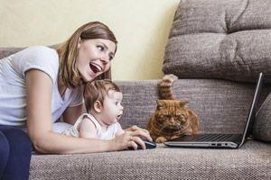 travail à domicile et enfant