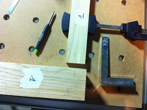 Travailler le bois table chêne Pica Dry
