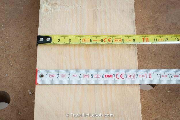 Mètre ruban Stanley et BMI