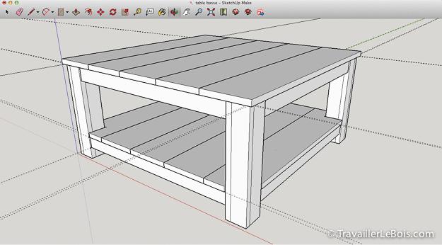 utiliser le logiciel sketchup pour la menuiserie travailler le bois. Black Bedroom Furniture Sets. Home Design Ideas