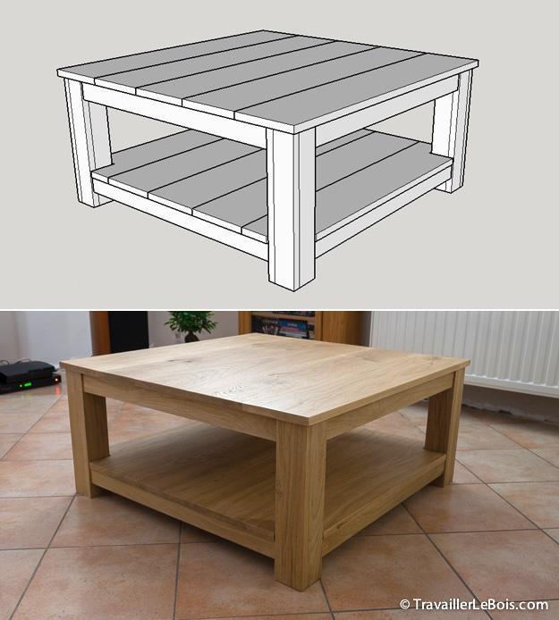 SketchUp menuiserie meuble bois
