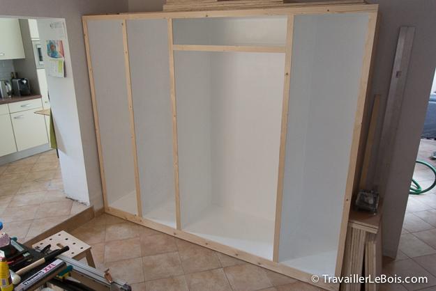 fabrication d un placard 6 me partie travailler le bois
