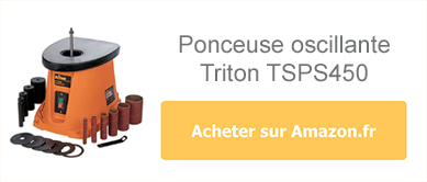 Acheter la ponceuse oscillante Triton TSPS450 sur Amazon.fr