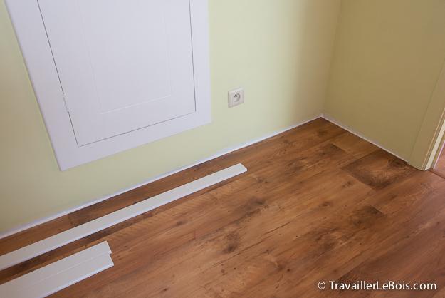 comment poser des plinthes travailler le bois. Black Bedroom Furniture Sets. Home Design Ideas