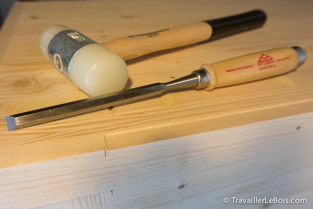 Ciseau à bois Stubaï