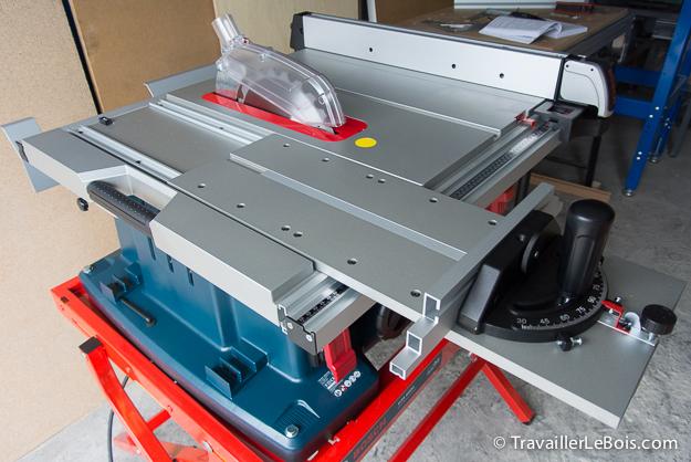 La scie sur table bosch gts 10 xc 1 re partie montage - Scie sur table bosch pts 10 ...