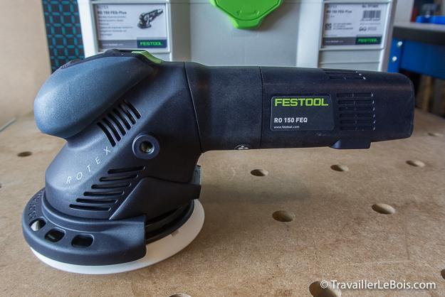 Ponceuse Festool ROTEX RO 150 FEQ
