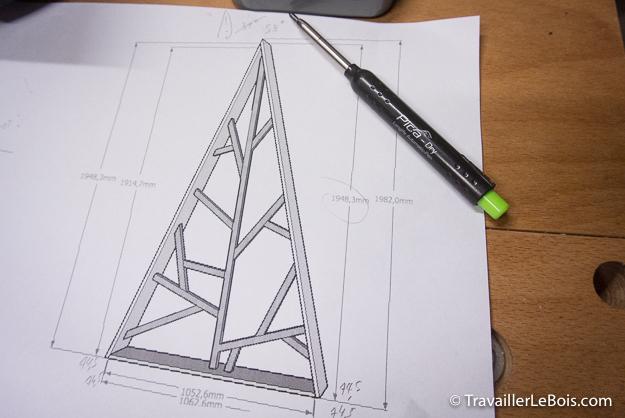 Concevoir un sapin avec Sketchup