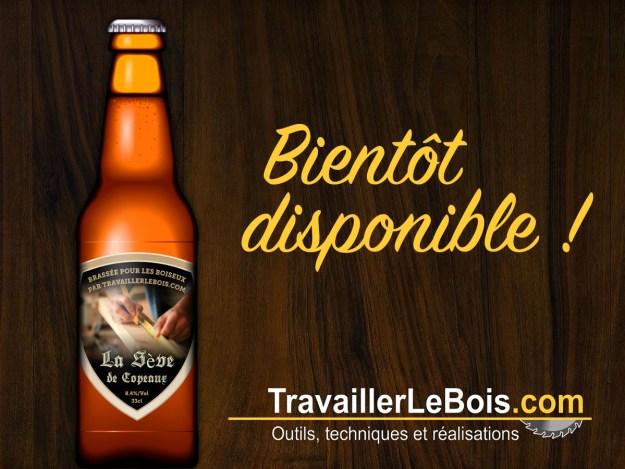 """Bière """"La Sève de Copeaux"""""""