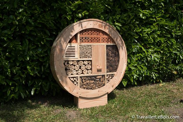 Hôtel à insectes original