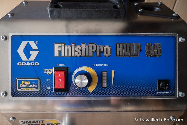 Graco TurboForce FinishPro HVLP