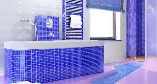 carrelage mosaique pour salle de bain