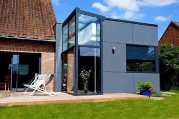 prix d une extension de maison en acier