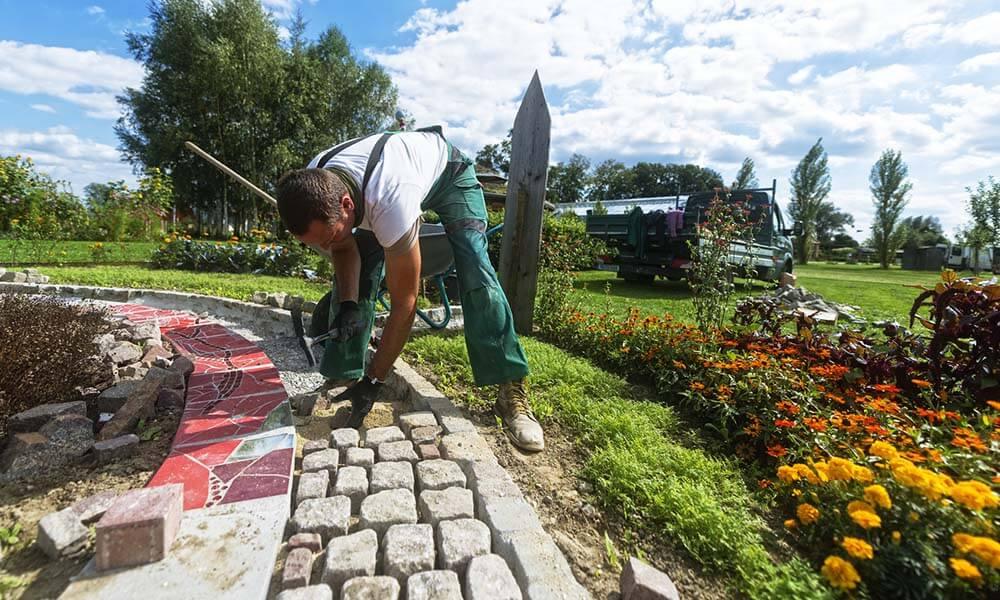 Amnagement dun jardin paysager