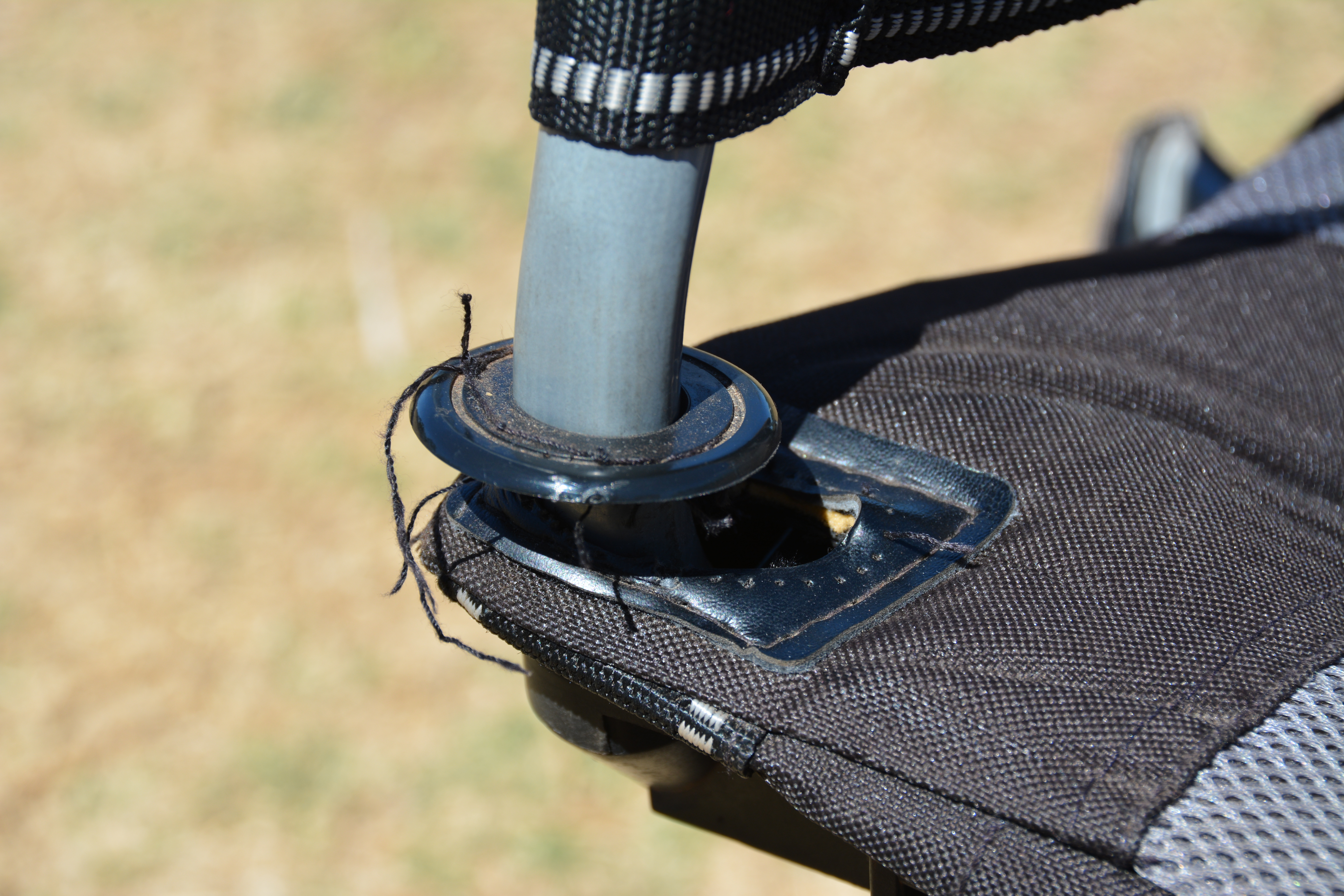 oztent king kokoda chair review replacement parts chairs travel around australia stitching issue