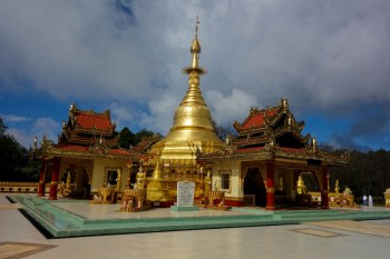 Monastery complex near Kengtung