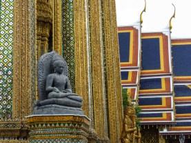 Buddha sculpture in Bangkok's Grand Palace