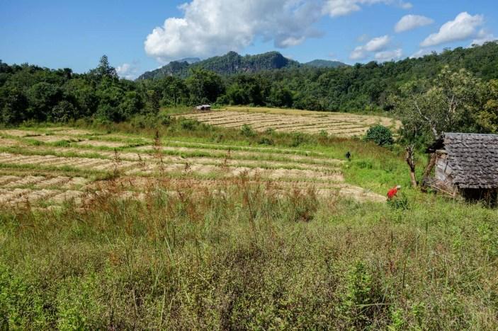 Hilltribe village close to Pai