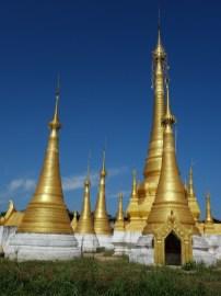 Shwe Indein Pagoda complex