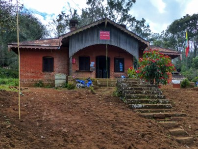 Colonial post office in Loi-Mwe, Kengtung District, Myanmar