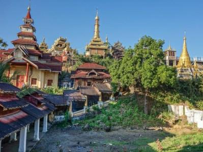 View from the Yadanar Bon Myint temple in Mawlamyine