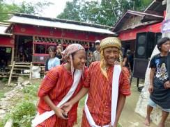 Tana Toraja Funeral Ceremony - grandsons in traditional clothes Christian Jansen & Maria Düerkop