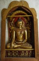 Little Buddha in pagoda of Bagan Christian Jansen & Maria Düerkop