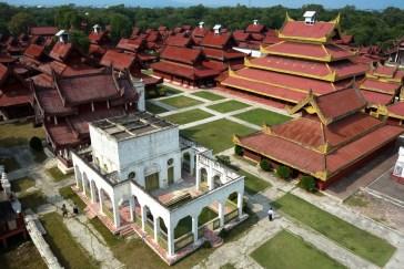 Mandalay Royal Palace - View from watchtower Christian Jansen & Maria Düerkop
