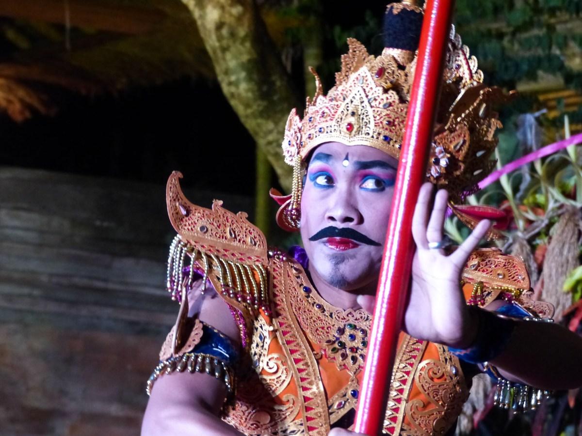 Bali - Ubud: Scene in traditional ballet Christian Jansen & Maria Düerkop