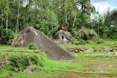 Tana Toraja - rice terraces around monolithic stone graves Christian Jansen & Maria Düerkop