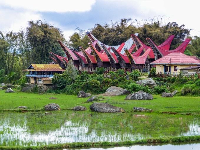 Tana Toraja - village and rice paddies Christian Jansen & Maria Düerkop