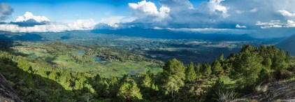 Tana Toraja - mountain view: panorama into the green valley Christian Jansen & Maria Düerkop