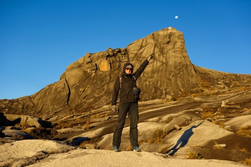 Mount Kinabalu - There is the moon! Christian Jansen & Maria Düerkop
