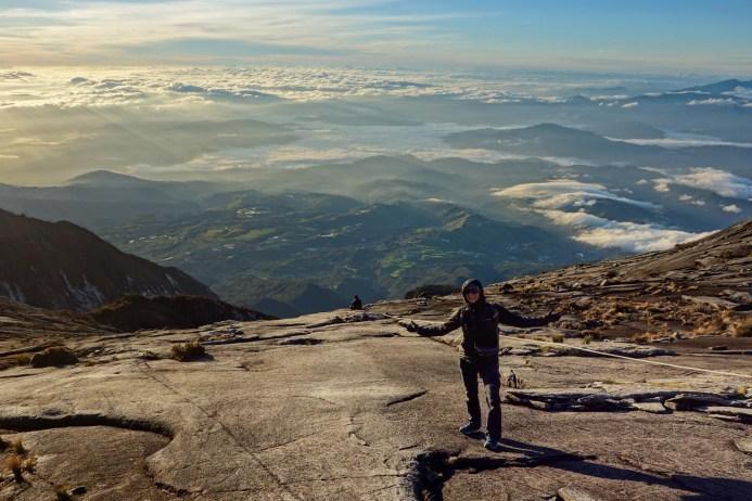 Mount Kinabalu - View into misty valley Christian Jansen & Maria Düerkop