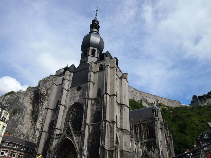Collegiate Church of Notre-Dame in Dinant, Belgium
