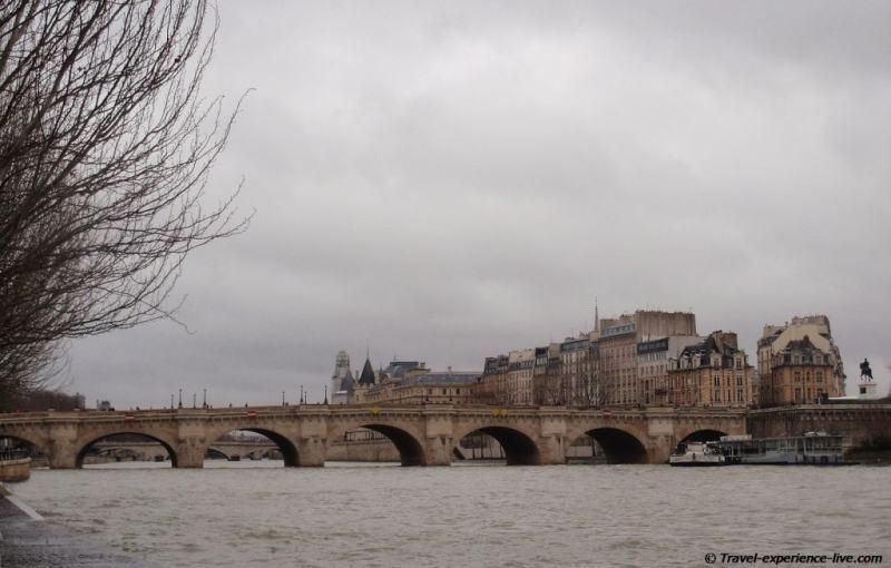 River Seine, France.