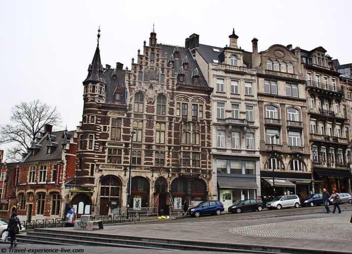 Architecture in Brussels, Belgium