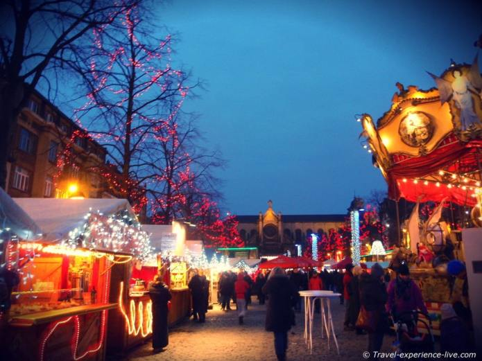 Christmas markets in Brussels.
