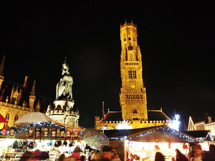 Belfry in Bruges.